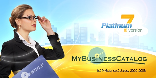 Splash design for MyBusinessCatalog