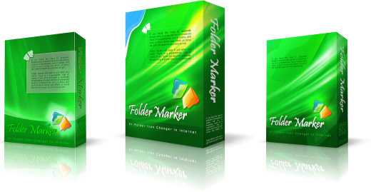 CD Box Design for Folder Marker